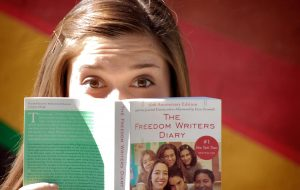 Cara Girl Scout Kid with #1 New York Times Bestseller The Freedom Writers Diary 10th Edition