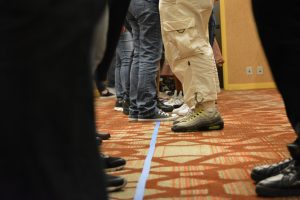 The line game by teachers at our Freedom Writers Teacher Institute.