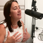 Erin Gruwell is interviewed on a podcast on behalf of the Freedom Writers Foundation.