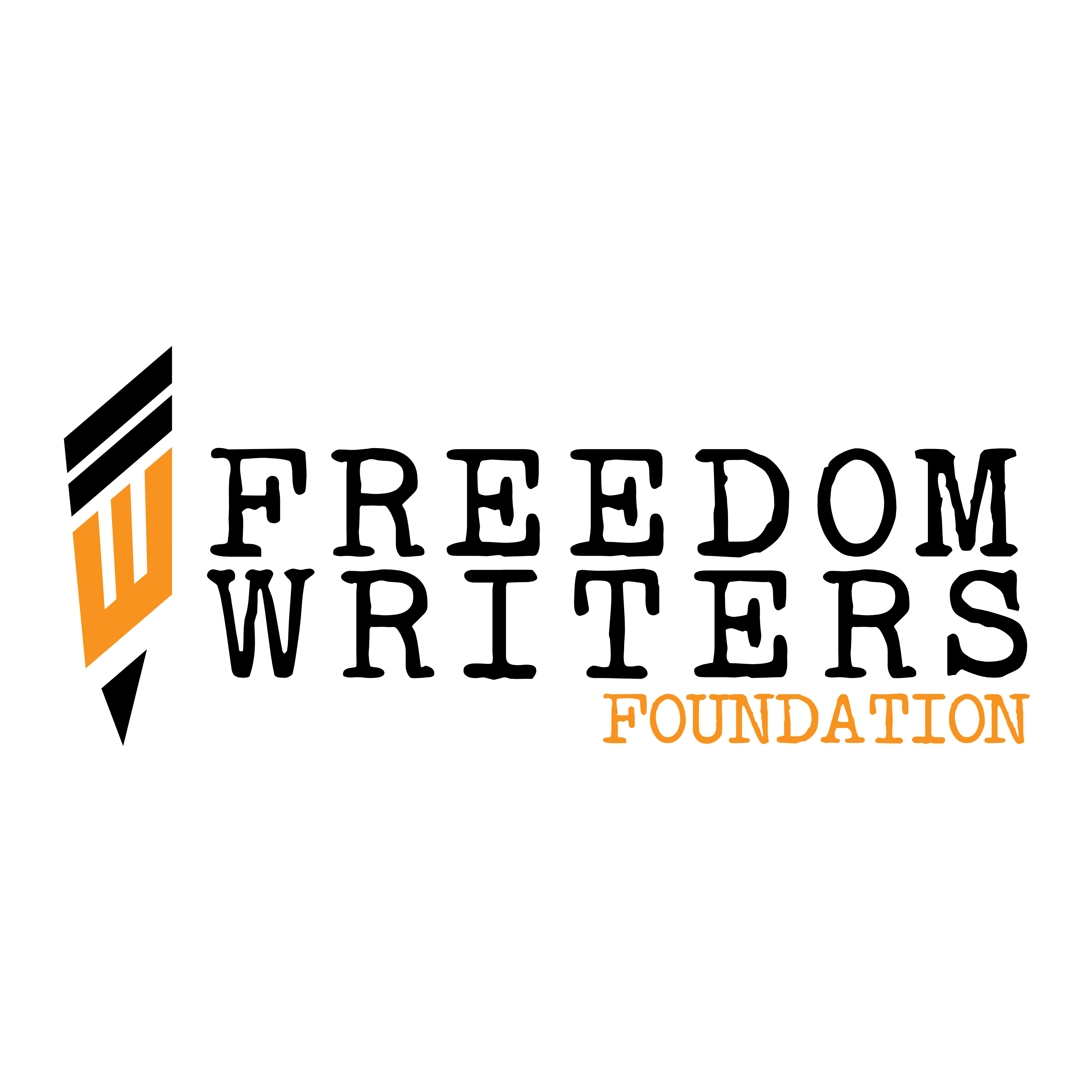 Logo for the Freedom Writers Foundation