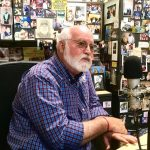 Father Greg Boyle of Homeboy Industries being interviewed for the Freedom Writers Podcast by Freedom Writer Foundation founder Erin Gruwell