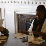 Original Freedom Writers Brenda and Shanita review Freedom Writer institute submissions in Long Beach California