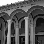 Wilson High School Black and White Photo home of Room 203 where the Freedom Writers were founded