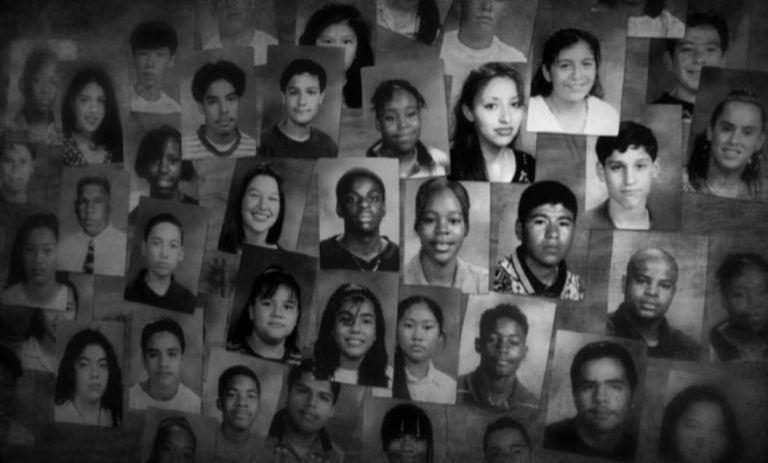 Collage of Freedom Writers Wilson High School Yearbook